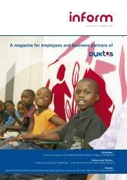 inform 03.2010 e (PDF-file - 3 MB) - Duktus