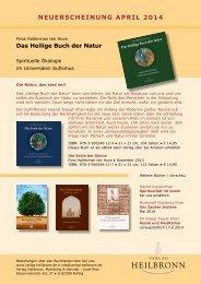 Neuerscheinungen Verlag Heilbronn - April 2014