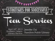 Strategies for Successful - Southern Ontario Library Service