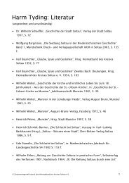 Literatur Harm Tyding 14.05.2009 (pdf 0,02 - Stadt Soltau