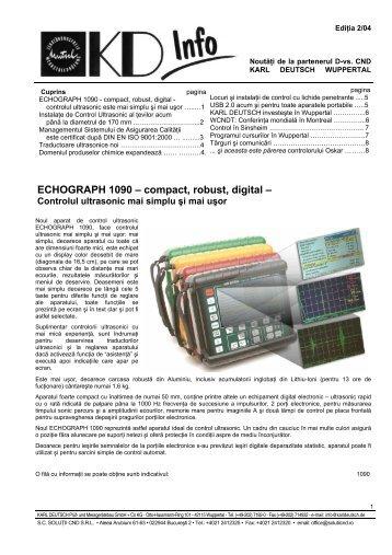 Prezentare detaliata in format PDF - Solutii CND