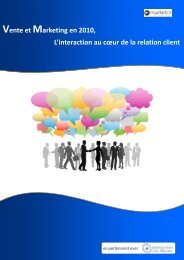 Etude Vente Marketing 2010 - Solutions-as-a-Service