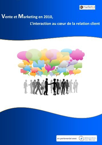 Etude Vente Marketing 2010 - Solutions-as-a-Service
