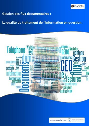 Gestion des flux documentaires - Solutions-as-a-Service