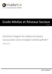 Guide Médias et Réseaux Sociaux