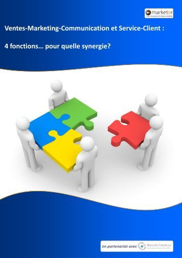 Ventes-Marketing-Communication et Service-Client - Solutions-as-a ...