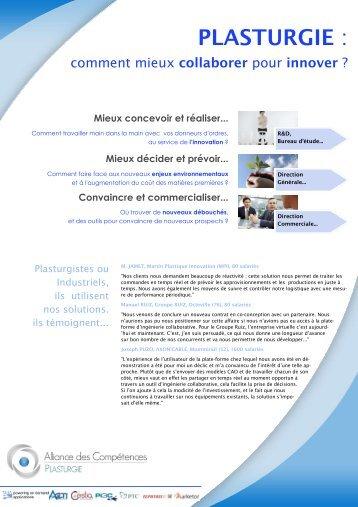 Fiche Solution Alliance Plasturgie - Solutions-as-a-Service