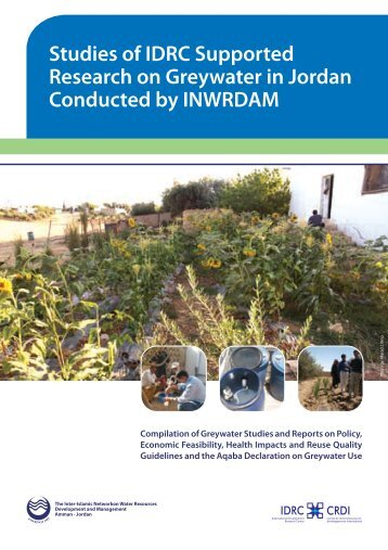 Studies of IDRC Supported Research on Greywater in ... - inwrdam
