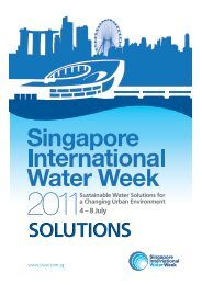 Solutions for Water platform - World Water Forum 6th