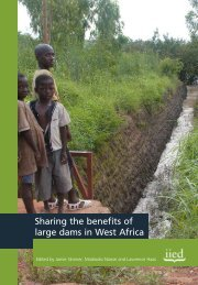 Sharing the benefits of large dams in West Africa - IIED pubs ...