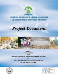 FAO Project Document book - Solutions for Water platform - World ...