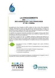 LES ENGAGEMENTS - Agence de l'eau Rhône Méditerranée Corse