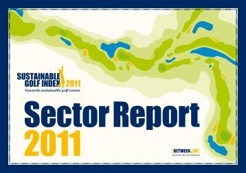 Sector Report Sustainable Golf Index 2011 - Solutions for Water ...