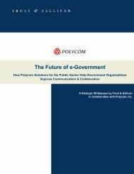 White Paper: The Future of e-Government - Virtual Events India