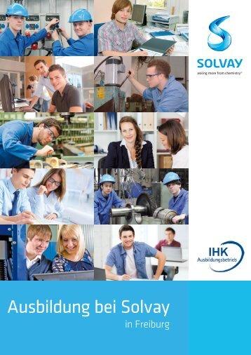 Ausbildung bei Solvay in Freiburg - Solvay in Deutschland