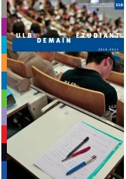 ULB Demain Etudiant - Solvay Brussels School