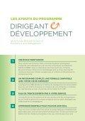 dirigeant developpement - Solvay Brussels School - Economics ... - Page 4
