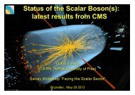 Status of the Scalar Boson(s): latest results from ... - Solvay Institutes