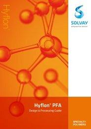 Design & Processing Guide - Solvay Plastics