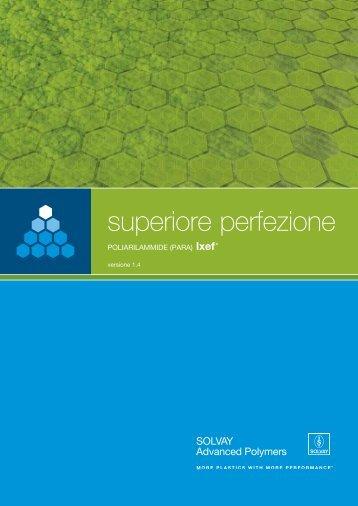 superiore perfezione - Solvay Plastics
