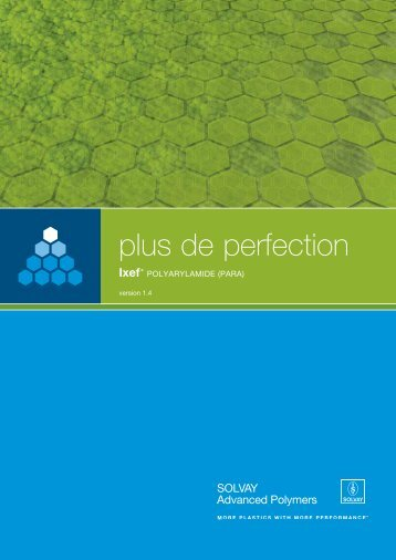 plus de perfection - Solvay Plastics