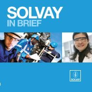 IN BRIEF - Solvay Asia Pacific