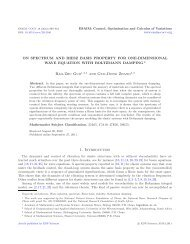 On Spectrum and Riesz basis property for one-dimensional wave ...