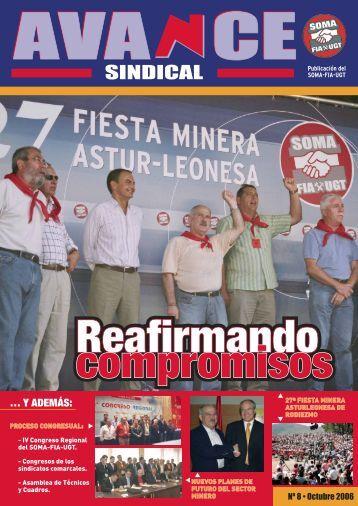 Nº 8 de la revista AVANCE Sindical - SOMA FITAG-UGT