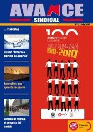 Nº 12 de la revista AVANCE Sindical - SOMA FITAG-UGT