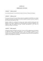 Convenio colectivo de Grupo HUNOSA - SOMA FITAG-UGT
