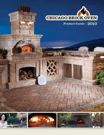 Chicago Brick Oven catalog - Blue Max Materials