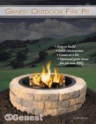 GENEST OUTDOOR FIRE PIT - Genest Concrete