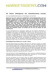 Informationen - Contract Media AG