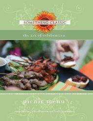 Picnic Menu 2012 WEB - Something Classic