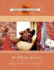 Wedding Menu 2012-2 WEB - Something Classic
