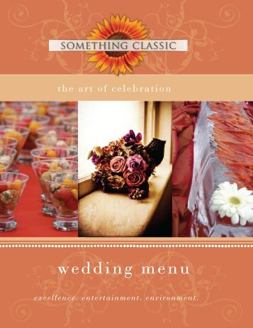 Wedding Menu 2012-2 WEB - Something Classic
