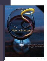 Wine Cocktails - Sommelier Journal