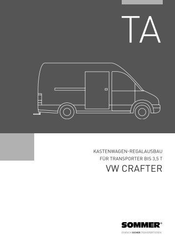 vw crAFTer - Sommer Fahrzeugbau GmbH & Co. KG