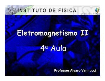 4a Aula - Fap.if.usp.br