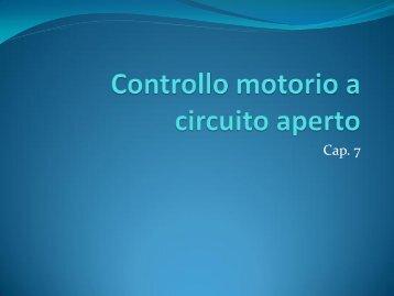 Controllo motorio a circuito aperto