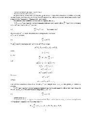 Caratteristiche del vettore ! Deduzione delle formule di Poisson ed ...