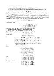 Componenti di un operatore secondo una base assegnata V ...