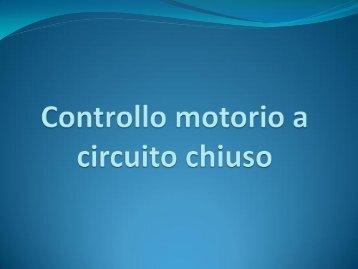 Controllo motorio a circuito chiuso
