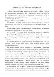 Curriculum vitae - Centro interdipartimentale della comunicazione ...