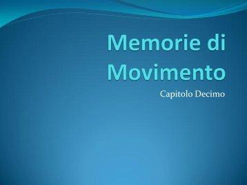 Memorie di Movimento