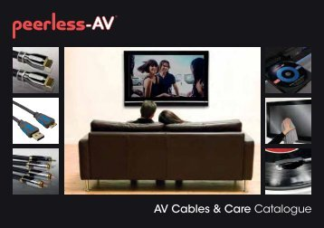 AV Cables & Care Catalogue