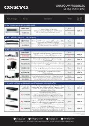 Price List - BBG Distribution Ltd - Eu.com