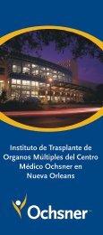 Folleto Internacional de Trasplante - Ochsner.org