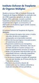 Folleto Internacional de Trasplante - Ochsner.org - Page 3