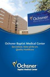Ochsner Baptist Medical Center - Ochsner.org